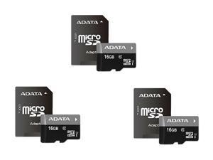 Adata Flash Memory Bundle: ADATA Premier 16GB microSDHC/SDXC UHS-I U1 Memory Card ...