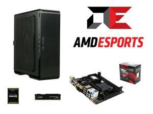AMD A10-7860K Quad-Core CPU w/ AMD Quiet Cooler and AMD Radeon R7 Graphics, MSI A88XI AC V2 mITX MOBO, IN WIN Chopin Black/Silver ...