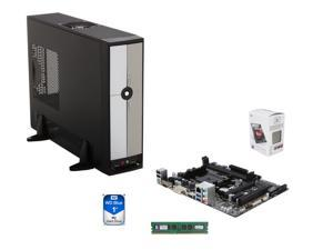 AMD A4-6300 Dual-Core 3.7 GHz CPU,  GIGABYTE GA-F2A78M-HD2 mATX MB, Rosewill R379-M mATX Case w/ 300W PSU, Kingston 4GB DDR3 ...