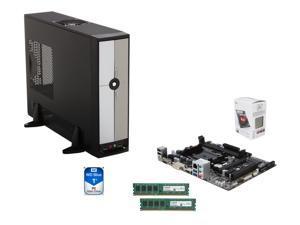 AMD A4-6300 Dual-Core 3.7 GHz CPU,  GIGABYTE GA-F2A78M-HD2 mATX MB, Rosewill R379-M mATX Case w/ 300W PSU, Crucial 8GB (2 ...