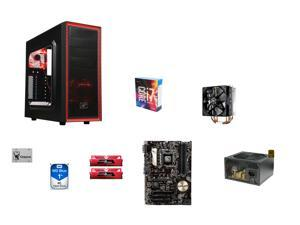 Intel Core i7-6700K Skylake Quad-Core 4.0GHz CPU, ASUS Z170-P ATX MOBO, GeIL EVO POTENZA 16GB DDR4 2400 MEM, Kingston UV400 ...