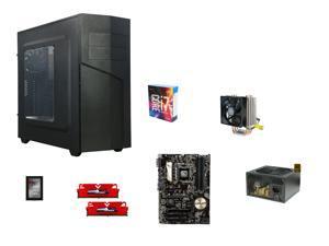 Intel Core i7-6700K Skylake Quad-Core 4.0GHz CPU, ASUS Z170-P ATX MOBO, GeIL EVO ...
