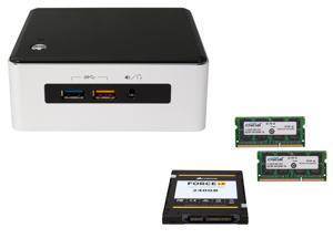"""Intel NUC NUC5i5RYH, USB 3.0, Supports M.2 SSD card / 2.5"""" HDD Intel HD Graphics 6000, Mini HDMI, Mini DisplayPort, Corsair ..."""