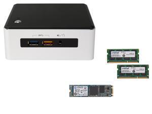"""Intel NUC NUC5i5RYH, USB 3.0, Supports M.2 SSD card / 2.5"""" HDD Intel HD Graphics 6000, Mini HDMI, Mini DisplayPort, Kingston ..."""