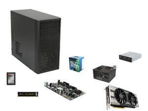 Intel Core i5-6500 Skylake Quad-Core 3.2GHz, GIGABYTE GA-H110M-A mATX MOBO, CORSAIR 8GB DDR4 2133 MEM, EVGA GeForce GTX 1070 ...