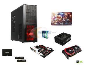 Intel Core i5-6600K Skylake 3.5GHz Quad-Core CPU, GIGABYTE G1 Gaming MOBO, HyperX Savage 16GB DDR4 MEM , EVGA GeForce GTX ...