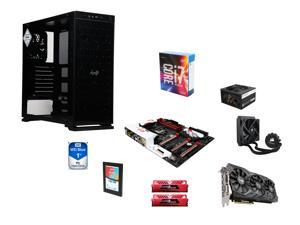 Intel i7-6700K Quad-Core 4.0Ghz, CORSAIR Hydro H50 Cooler, Gigabyte G1 Gaming Z170X ATX MOBO, GeIL 16GB DDR4 2400 MEM, InWin ...