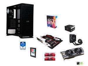 Intel i7-6700K Skylake Quad-Core 4.0Ghz, CORSAIR H50 CPU Cooler, Gigabyte G1 Gaming Z170X ATX MOBO, GeIL 16GB DDR4 2400 MEM, ...
