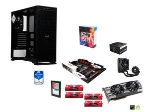 Intel i7-6700K Skylake Quad-Core 4.0Ghz, CORSAIR H50 CPU Cooler, Gigabyte G1 Gaming Z170X ATX MOBO, 2 x GeIL 16GB DDR4 2400 ...