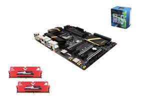 Intel i5-6600 Skylake Quad-Core 3.3GHz LGA 1151, Gigabyte GA-Z170X-UD5 ATX MOBO, GeIL EVO POTENZA 16GB(2 x 8GB) DDR4 2400 ...