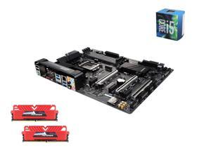 Intel i5-6600 Skylake Quad-Core 3.3GHz LGA 1151, Gigabyte GA-Z170X-Ultra Gaming ATX MOBO, GeIL EVO POTENZA 16GB(2 x 8GB) ...