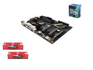 Intel i5-6600 Skylake Quad-Core 3.3GHz LGA 1151, ASUS ROG Maximus VIII Ranger Z170 ATX MOBO, GeIL EVO POTENZA 16GB(2 x 8GB) ...
