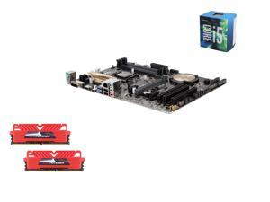 Intel i5-6600 Skylake Quad-Core 3.3GHz LGA 1151, Asus Z170-P ATX MOBO, GeIL EVO POTENZA 16GB(2 x 8GB) DDR4 2400 MEM