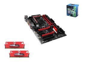 Intel i5-6600 Skylake Quad-Core 3.3GHz LGA 1151, MSI Z170A TOMAHAWK ATX MOBO, GeIL EVO POTENZA 16GB(2 x 8GB) DDR4 2400 MEM