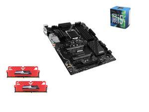 Intel i5-6600 Skylake Quad-Core 3.3GHz LGA 1151, MSI SLI Plus ATX MOBO, GeIL EVO POTENZA 16GB(2 x 8GB) DDR4 2400 MEM