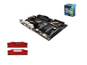 Intel i5-6600 Skylake Quad-Core 3.3GHz LGA 1151, Gigabyte GA-Z170X-UD5 ATX MOBO, G.SKILL Ripjaws V Series 16GB(2 x 8GB) DDR4 ...