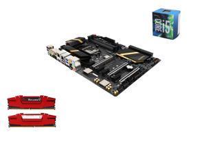 Intel i5-6600 Skylake Quad-Core 3.3GHz LGA 1151, ASUS ROG Maximus VIII Ranger Z170 ATX MOBO, G.SKILL Ripjaws V Series 16GB(2 ...