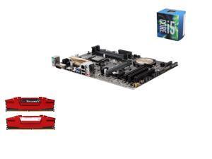 Intel i5-6600 Skylake Quad-Core 3.3GHz LGA 1151, Asus Z170-P ATX MOBO, G.SKILL Ripjaws V Series 16GB(2 x 8GB) DDR4 2400