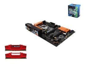 Intel i5-6600 Skylake Quad-Core 3.3GHz LGA 1151, ASRockZ170 Pro4 ATX MOBO, G.SKILL Ripjaws V Series 16GB(2 x 8GB) DDR4 2400