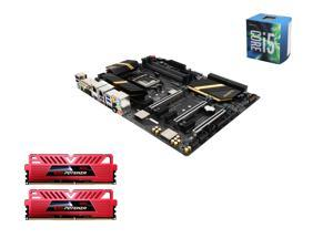 Intel i5-6600 Skylake Quad-Core 3.3GHz LGA 1151, Gigabyte GA-Z170X-UD5 ATX MOBO, GeIL EVO POTENZA 16GB(2 x8GB) DDR4 3000