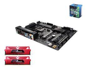 Intel i5-6600 Skylake Quad-Core 3.3GHz LGA 1151, Gigabyte GA-Z170X-Ultra Gaming ATX MOBO, GeIL EVO POTENZA 16GB(2 x8GB) DDR4 ...