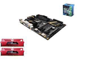 Intel i5-6600 Skylake Quad-Core 3.3GHz LGA 1151, ASUS ROG Maximus VIII Ranger Z170 ATX MOBO, GeIL EVO POTENZA 16GB(2 x8GB) ...