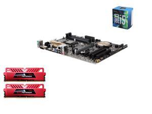 Intel i5-6600 Skylake Quad-Core 3.3GHz LGA 1151, Asus Z170-P ATX MOBO, GeIL EVO POTENZA 16GB (2x8GB) DDR4 3000