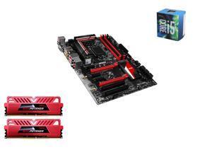 Intel i5-6600 Skylake Quad-Core 3.3GHz LGA 1151, MSI Z170A TOMAHAWK ATX MOBO, GeIL EVO POTENZA 16GB(2 x8GB) DDR4 3000