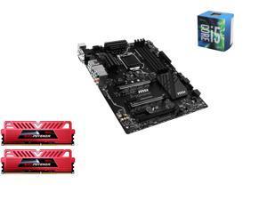 Intel i5-6600 Skylake Quad-Core 3.3GHz LGA 1151, MSI SLI Plus ATX MOBO, GeIL EVO POTENZA 16GB(2 x8GB) DDR4 3000