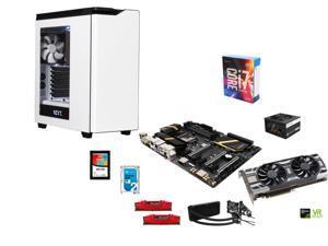 Intel i7-6700K Skylake 4.0GHz, Corsair H100i Water Cooler, Gigabyte GA-Z170X-UD5 ATX, G.SKILL 16GB DDR4 2800, NZXT H440 Steel ...