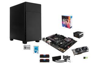 Intel i7-6700K Skylake 4.0GHz, Corsair H100i Water Cooler, ASUS ROG Maximus VIII Ranger Z170 ATX, GeIL 16GB DDR4 3000, Corsair ...
