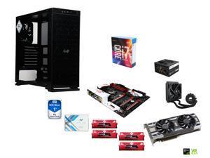 Intel i7-6700K Skylake Quad-Core 4.0Ghz, CORSAIR H50 CPU Cooler, Gigabyte G1 Gaming Z170X ATX MOBO, 2 x GeIL 16GB DDR4 2400 ...