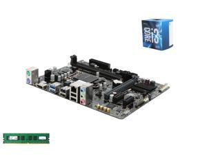 Intel i3-6100 Skylake 3.7GHz LGA 1151, GIGABYTE GA-H110M-A LGA 1151 H110 Micro ATX MB, Kingston ValueRAM 8GB DDR4 2133 MEM