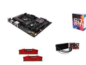 Intel Core i7-6700K Quad-Core 4.0GHz, ASUS LGA 1151 Z170, G.SKILL 16GB DDR4 2400, Thermaltake Liquid Cooling System
