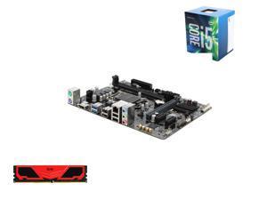 Intel Core i5-6500 6M Skylake Quad-Core 3.2 GHz LGA 1151, GIGABYTE GA-H110M-A LGA 1151 H110 Micro ATX MB, Team Elite Plus ...