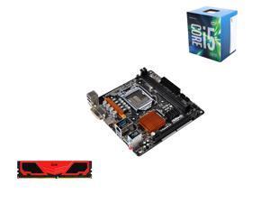 Intel Core i5-6500 6M Skylake Quad-Core 3.2 GHz LGA 1151, ASRock LGA 1151 H110 Mini ITX MB, Team Elite Plus 8GB DDR4 2133 ...