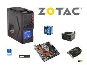 ARZ SuperCombo: Intel Core i3-6300 Skylake Dual-Core 3.8Ghz CPU, ASRock H110M-DGS LGA mTX MOBO, G.SKILL 8GB DDR4 2400 MEM, ...