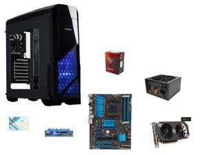 AMD FX-8300 8-Core 3.3GHz CPU, ASUS M5A97 R2.0 AM3+ ATX MOBO, G.SKILL Ripjaws 8GB DDR3 1600, ROSEWILL NAUTILUS ATX CASE, ...