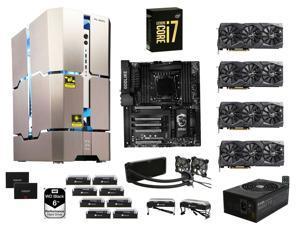 Intel Core i7-6950X Broadwell-E 10-Core 3.0GHz, MSI X99A GodLike Carbon, CORSAIR 128GB DDR4 2666, EVGA 1600W, IN WIN Transformer ...