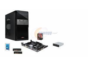 AMD A10-7700K Kaveri Quad-Core 3.4GHz w/ AMD Radeon R7 Graphics, GIGABYTE GA-F2A78M-HD2 FM2+ A78 mATX, G.SKILL Sniper 8GB ...