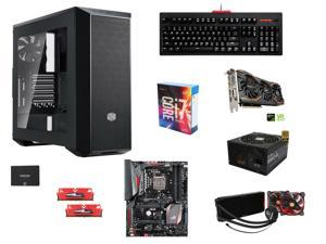 Intel Core i7-6700K Skylake Quad-Core 4.0GHz, ASUS ROG MAXIMUS VIII HERO, GeIL EVO POTENZA 16GB DDR4 2400, MasterBox 5 Black ...