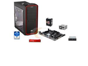 AMD A6-5400K Trinity Dual-Core 3.6GHz, GIGABYTE GA-F2A78M-HD2 FM2+ A78 mATX, HpyerX 8GB DDR3, WD Blue 1TB HDD, LOGISYS 480W ...
