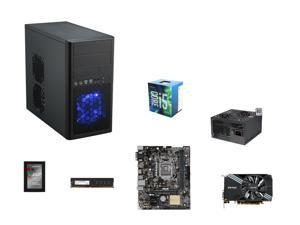 Intel Core i5-6500 Skylake Quad-Core 3.2GHz CPU, ASUS H110M-E/M.2 mATX MOBO, G.SKILL NT Series 8GB DDR4 2400 MEM, ZOTAC GeForce ...