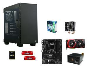 Intel Core i5-6600K Skylake Quad-Core 3.5GHz, MSI Z170A SLI Plus ATX, GeIL EVO POTENZA 8GB DDR4 2400, Corsair Force 240GB ...