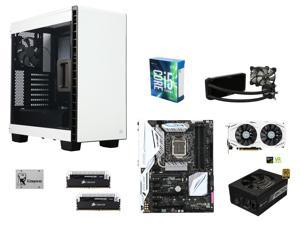Intel Core i5-6600K Skylake Quad-Core 3.5GHz, ASUS Z170-DELUXE ATX, CORSAIR Dominator Platinum 16GB DDR4 3000, Corsair 400C ...