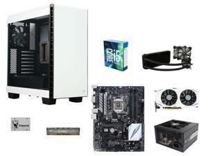 Intel Core i5-6600K Skylake Quad-Core 3.5GHz, ASUS Z170-E LGA 1151 ATX, Ballistix Sport 8GB DDR4 2400, Corsair 400C ATX, ...