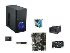 Intel Core i5-6500 Skylake Quad-Core 3.2GHz CPU, GIGABYTE GA-H110M-S2H mATX MOBO, G.SKILL NT Series 8GB DDR4 2400 MEM, ZOTAC ...