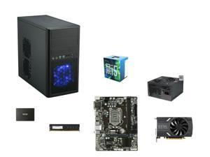 Intel Core i5-6500 Skylake Quad-Core 3.2GHz CPU, GIGABYTE GA-H110M-S2H mATX MOBO, G.SKILL NT Series 8GB DDR4 2400 MEM, EVGA ...
