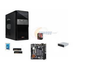 AMD A10-7700K Kaveri Quad-Core 3.4GHz w/ AMD Radeon R7 Graphics, Asrock A88X mITX MOBO, G.SKILL Sniper 8GB DDR3 1866, Seagate ...