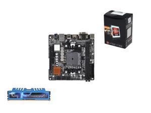 Upgrade Kit UAG-3143K: AMD A6-5400K 3.6GHz Dual Core, A88X mITX Motherboard, 8GB DDR3 RAM